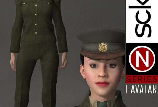 N Series MILITARY Soldier Woman 1B  I-AVATAR