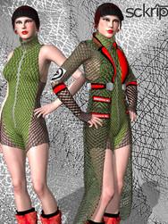 Net jacket & bodysuit Bundle