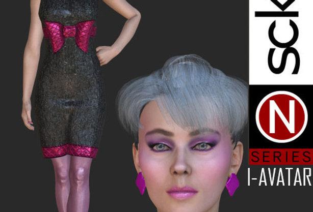 N Series Fashion Model Woman 2  I-AVATAR