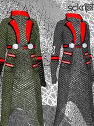 fishnet jackets