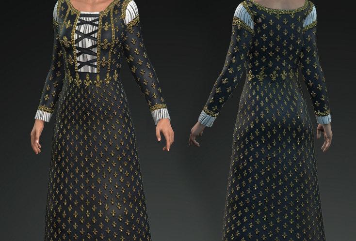 Medieval Dress 6