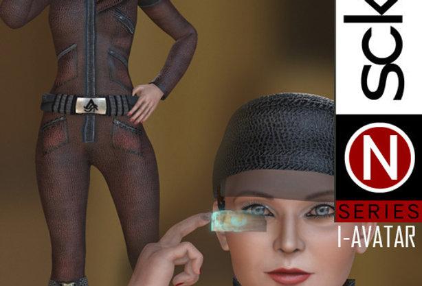 N Series SCI-FI Woman 1  I-AVATAR
