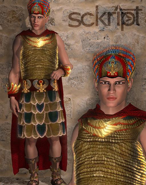 Pharaoh armor bundle