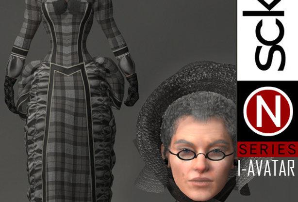 N Series Woman 4 Victorian  I-AVATAR