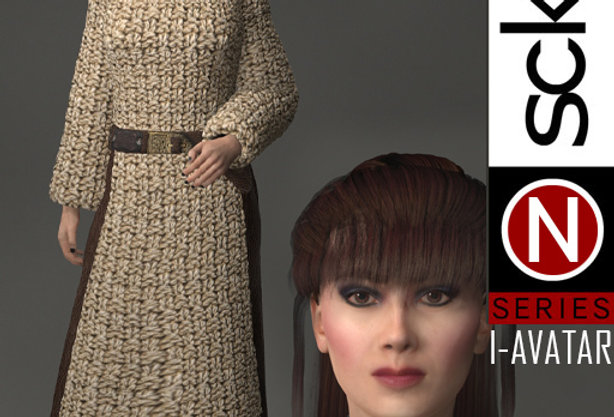 N Series VIKINGS Woman 2  I-AVATAR