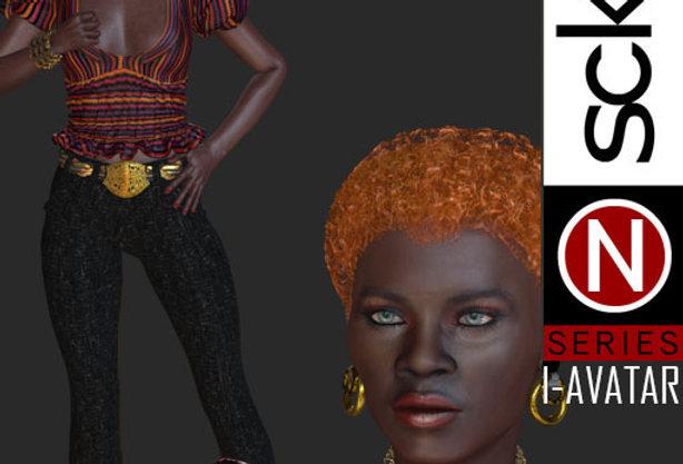N Series Fashion Model Woman 3  I-AVATAR