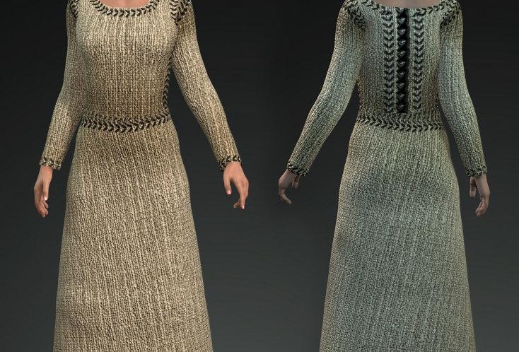Medieval Dress 7