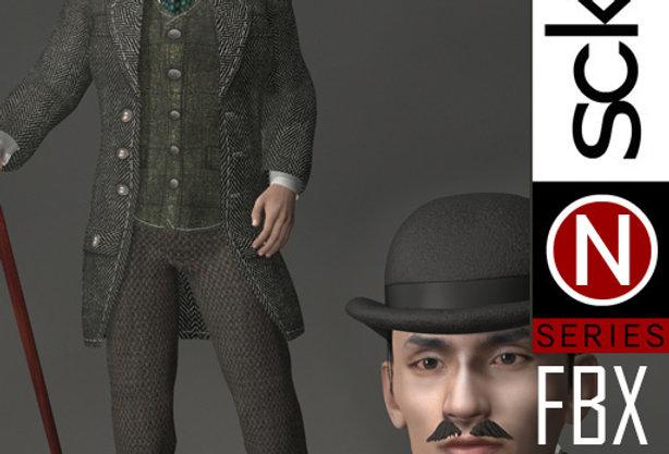 N Series Man 1 Victorian FBX