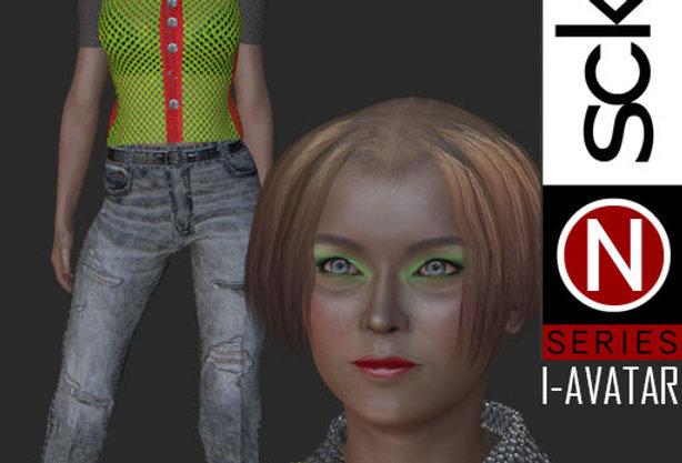 N Series Fashion Model Woman 7  I-AVATAR