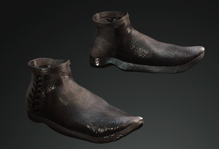 Medieval Man Shoes 2