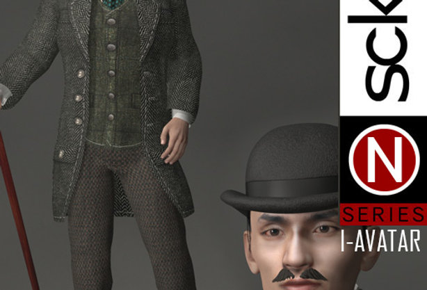 N Series Man 1 Victorian  I-AVATAR