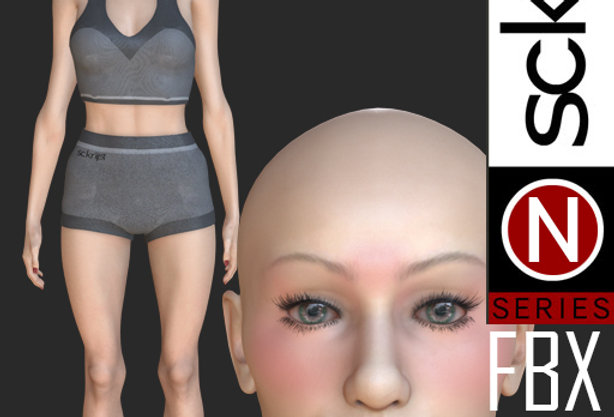 N Series Base Woman 7 FBX