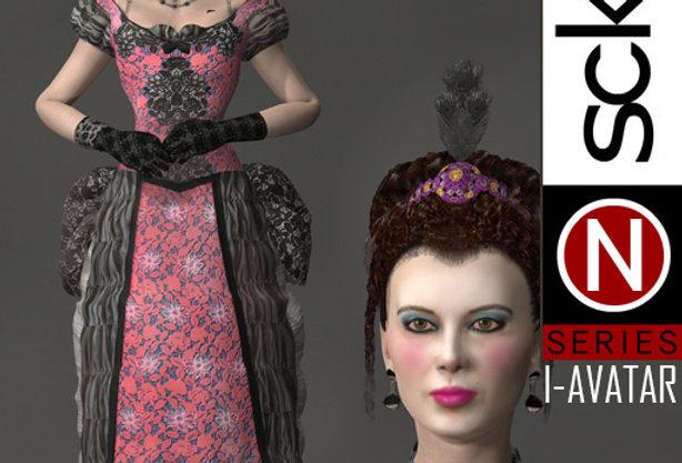N Series Woman 1 Victorian  I-AVATAR