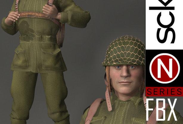 N Series MILITARY WW2 Man 1B FBX