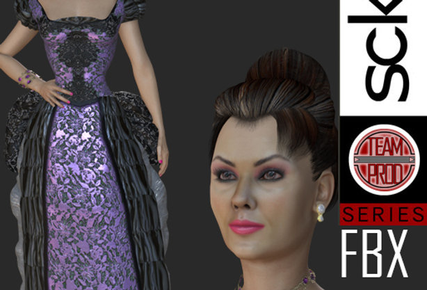 Time Agent Look 3 FBX
