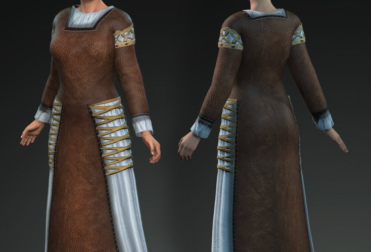 Medieval Dress 4