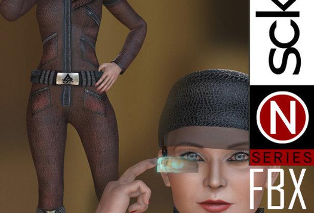 N Series SCI-FI Woman 1 FBX