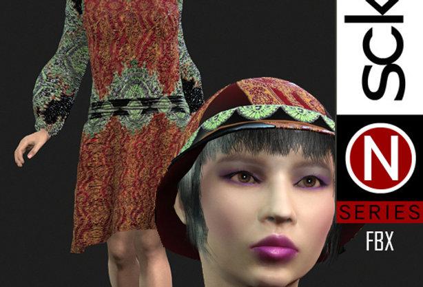 N Series Woman 1  1920 FBX