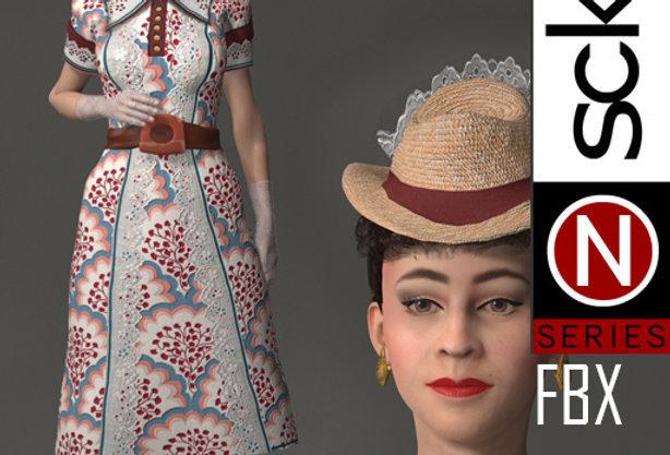 N Series Woman 1 1940 FBX