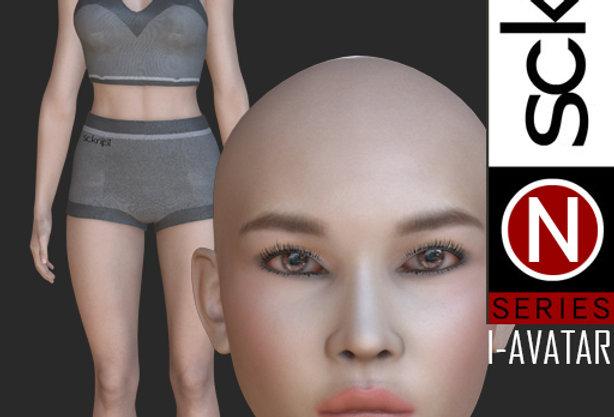 N Series Base Woman 1  I-AVATAR