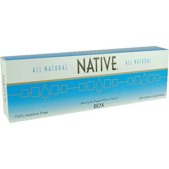 NATIVE LIGHT BLUE KING BOX