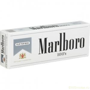 купить американский Marlboro Silver 100's