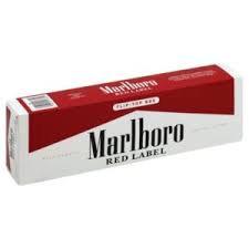 Marlboro Red Label (внутренний рынок USA)