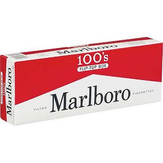 Marlboro Red 100 's Red (внутренний рынок USA)