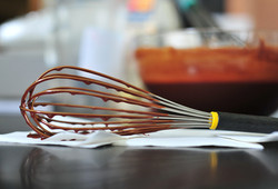 Dripping Whisk and Bowl