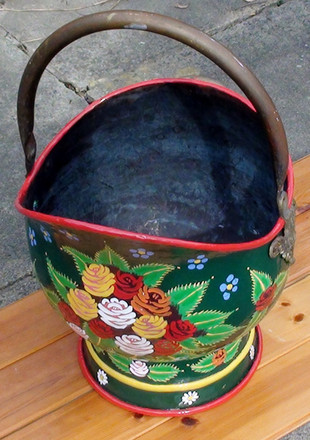 Canal Ware Coal Skuttle