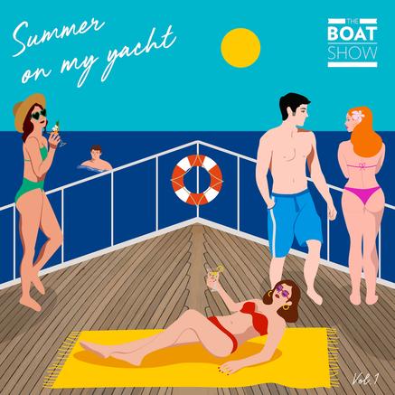 Summer on my yacht 1