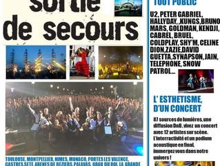 Bonjour nous sommes le vendredi 13 septembre â Mirepoix (09) en concert