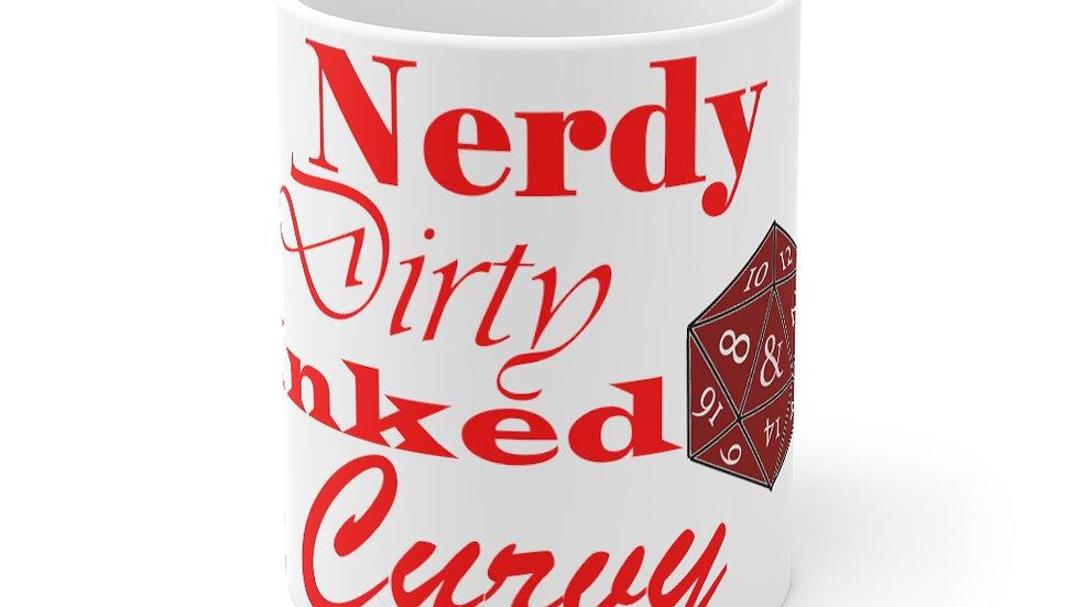 Nerdy Curvy Mug 11oz