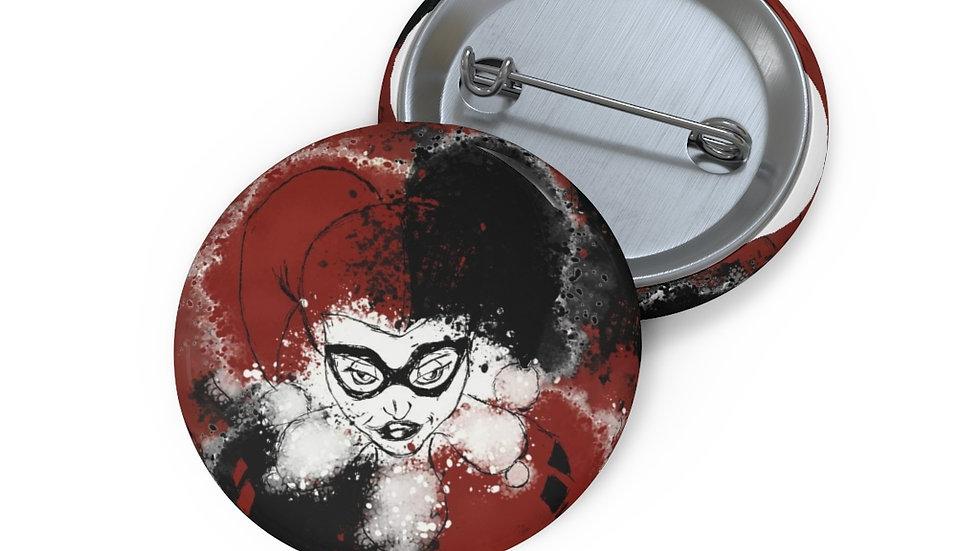 Custom Harley Quinn Button
