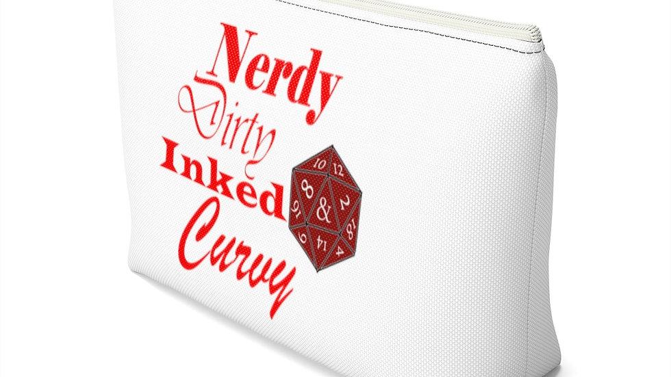 Nerdy Curvy Just B'Cos Accessory Pouch w T-bottom