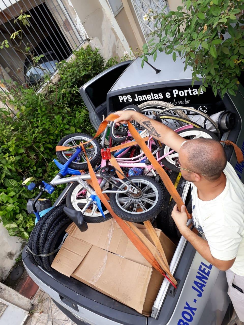 Doação de Bikes