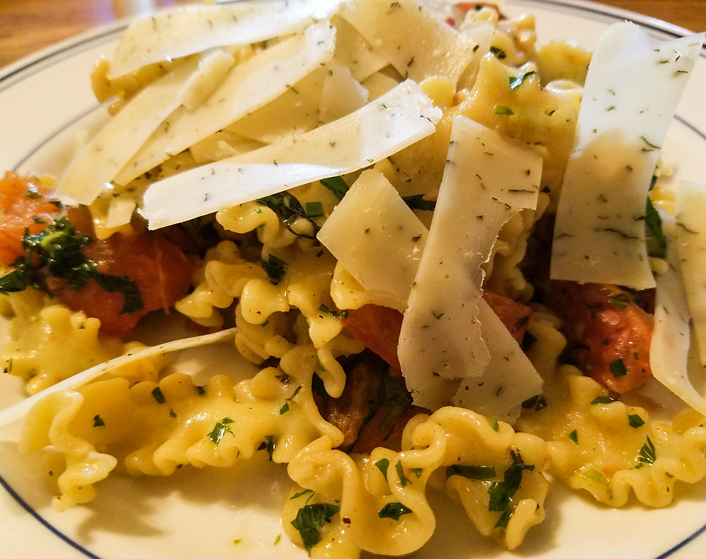 Duck Egg Pappardelle Ricci