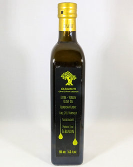 250 ml Quadish Extra Virgin Olive Oil 2018 Harvest FM