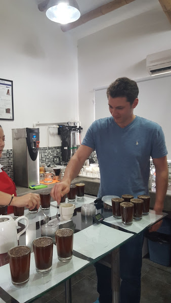 Cupping and testing