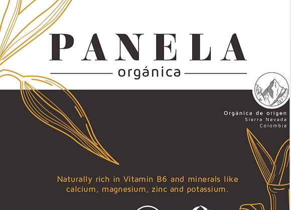 Organic Pulverized Panela 500g