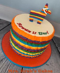 First Fiesta Cake