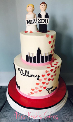 Couples Shower Cake