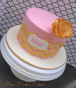 Pink and Gold Bday
