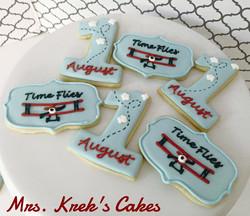 Time Flies Cookies