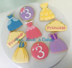 Princess Cookies 2