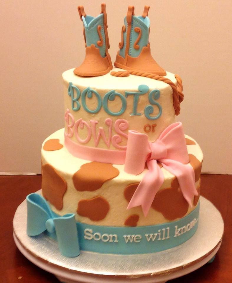 Boots Gender Reveal