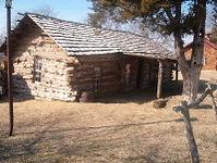 Pawnee Bill Log Cabin.JPG