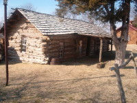 Pawnee Bill Log Cabin.JPG