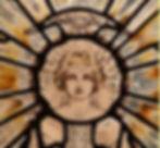 Theodora Salusbury stained glass artist.