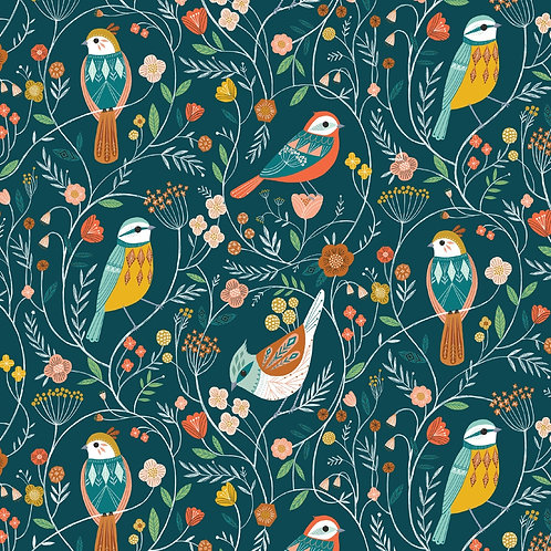 Dashwood Studio Aviary - Navy Birds